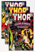 Silver Age (1956-1969):Superhero, Thor Group (Marvel, 1966-69) Condition: Average VF+.... (Total: 9 Comic Books)