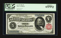 Large Size:Silver Certificates, Fr. 267 $5 1891 Silver Certificate PCGS Gem New 65PPQ.. ...