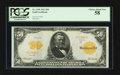 Large Size:Gold Certificates, Fr. 1199 $50 1913 Gold Certificate PCGS Choice About New 58.. ...