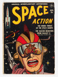 Golden Age (1938-1955):Science Fiction, Space Action #2 (Ace, 1952) Condition: VG....