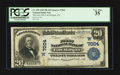 National Bank Notes:Colorado, Fort Morgan, CO - $20 1902 Plain Back Fr. 650 The First NB Ch. #(W)7004. ...
