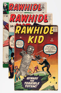 Rawhide Kid Group (Marvel, 1960-64) Condition: Average VG+.... (Total: 12 Comic Books)