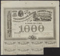 Confederate Notes:Group Lots, Ball 201 Cr. 125 $1000 1863 Bond Fine.. ...