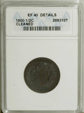 1800 1/2 C --Cleaned--ANACS. XF40 Details. NGC Census: (10/79). PCGS Population (11/75). Mintage: 202,908. Numismedia Ws...