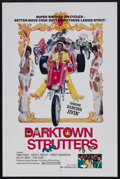 "Movie Posters:Blaxploitation, Darktown Strutters (New World Pictures, 1975). One Sheet (27"" X 41""). Blaxploitation. Starring Trina Parks, Roger E. Mosley,..."