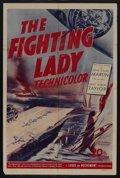 """Movie Posters:Documentary, The Fighting Lady (20th Century Fox, 1944). One Sheet (27"""" X 41""""). War Documentary. Narrated by Lt. Robert Taylor. Directed ..."""