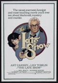 """Movie Posters:Crime, The Late Show (Warner Brothers, 1977). One Sheet (27"""" X 41""""). Mystery/Comedy. Starring Art Carney, Lily Tomlin, Bill Macy, E..."""