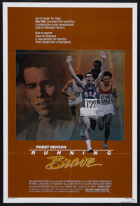 "Running Brave (Buena Vista, 1983). One Sheet (27"" X 41""). Sports Drama. Starring Robby Benson, Pat Hingle, Cla..."