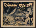 "Movie Posters:Adventure, Typhoon Treasure (United Artists, 1943). Half Sheet (22"" X 28"").Adventure. Starring Campbell Copelin, Gwen Monroe, Joe Vall..."