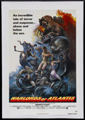 "Movie Posters:Fantasy, Warlords of Atlantis (Columbia, 1978). One Sheet (27"" X 41"").Sci-Fi Fantasy. Starring Doug McClure, Peter Gilmore, Cyd Char..."