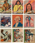 Non-Sport Cards:Sets, 1940's R128, R130 and R131 Complete or Near Set Trio (3). ...