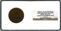 Expositions and Fairs, 1893 World's Columbian Exposition Administration Building Medal MS65 Brown NGC. E-54. Bronze-white metal, 50 mm....