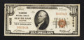 National Bank Notes:Wisconsin, Beaver Dam, WI - $10 1929 Ty. 1 The American NB Ch. # 4602. ...