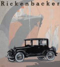 Paintings, BERYL HALEY (American, 20th Century). Rickenbacker advertisement. Gouache on board. 19.75 x 17.75 in.. Signed lower righ...