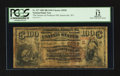 National Bank Notes:West Virginia, Sistersville, WV - $100 1882 Brown Back Fr. 527 The Farmers & Producers NB Ch. # (S)5028. ...