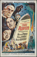 """Movie Posters:Horror, The Raven (American International, 1963). One Sheet (27"""" X 41""""). Horror.. ..."""