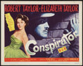 "Movie Posters:Adventure, Conspirator (MGM, 1949). Title Lobby Card (11"" X 14""). Adventure....."