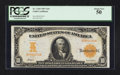 Large Size:Gold Certificates, Fr. 1169 $10 1907 Gold Certificate PCGS About New 50.. ...
