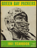 Football Collectibles:Publications, 1961 Green Bay Packers Yearbook....