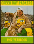 Football Collectibles:Publications, 1962 Green Bay Packers Yearbook....