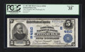 National Bank Notes:Pennsylvania, Pittsburgh, PA - $5 1902 Plain Back Fr. 603 The Columbia NB Ch. #(E)4910. ...