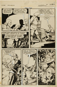 Matt Baker Classics Illustrated #32 Page 13 Original Art Group (Gilberton, 1946)