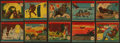 "Non-Sport Cards:Sets, 1941 R12 W.S. Corporation ""America At War"" (#'d 501-548) CompleteSet (48). ..."