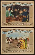 """Movie Posters:Western, They Died with Their Boots On (Warner Brothers, 1941). Lobby Cards (2) (11"""" X 14""""). Western.. ... (Total: 2 Items)"""