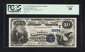 National Bank Notes:Pennsylvania, Lancaster, PA - $10 1882 Date Back Fr. 545 The Fulton NB Ch. #(E)2634. ...