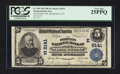 National Bank Notes:Pennsylvania, Spring Grove, PA - $5 1902 Plain Back Fr. 599 The Peoples NB Ch. #(E)8141. ...