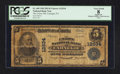 National Bank Notes:Pennsylvania, Carnegie, PA - $5 1902 Plain Back Fr. 609 The Union NB Ch. # 12934....