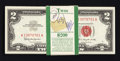 Small Size:Legal Tender Notes, Fr. 1513 $2 1963 Legal Tender Notes. Original Pack of 100. . ... (Total: 100 notes)
