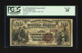 National Bank Notes:Wisconsin, Chippewa Falls, WI - $20 1882 Brown Back Fr. 499 The First NB Ch. # (M)2125. ...