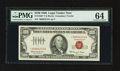 Small Size:Legal Tender Notes, Fr. 1550* $100 1966 Legal Tender Note. PMG Choice Uncirculated 64.. ...