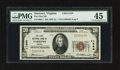 National Bank Notes:Virginia, Narrows, VA - $20 1929 Ty. 1 The First NB Ch. # 11444. ...