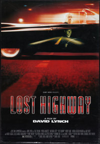 """Lost Highway (October Films, 1997). One Sheet (27.5"""" X 39.75"""") DS. Drama"""