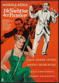 "Movie Posters:Musical, Louis Armstrong in Die Nacht vor der Premiere (Real Films, 1959). German A1 (23"" X 33""). Musical.. ..."
