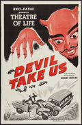 "Movie Posters:Short Subject, Devil Take Us (RKO, 1955). One Sheet (27"" X 41""). Short Subject....."