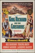 """Movie Posters:Adventure, King Richard and the Crusaders (Warner Brothers, 1954). One Sheet(27"""" X 41""""). Adventure.. ..."""