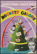 """Movie Posters:Comedy, Rockets Galore (Rank, 1958). British One Sheet (27"""" X 40""""). Comedy.. ..."""