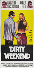 "Movie Posters:Comedy, Dirty Weekend (MGM, 1973). British Three Sheet (40"" X 79.5"").Comedy.. ..."