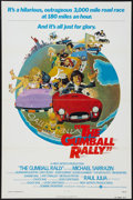 "Movie Posters:Comedy, The Gumball Rally and Other Lot (Warner Brothers, 1976). FlatFolded and Regular Folded One Sheets (2) (27"" X 41""). Comedy....(Total: 2 Items)"