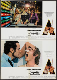 "A Clockwork Orange (Warner Brothers, 1972). Italian Photobusta Set of 10 (18"" X 26""). Science Fiction. ... (To..."