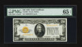 Small Size:Gold Certificates, Fr. 2402 $20 1928 Gold Certificate. PMG Gem Uncirculated 65 EPQ.. ...