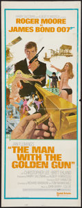 "Movie Posters:James Bond, The Man with the Golden Gun (United Artists, 1974). Insert (14"" X 36""). James Bond.. ..."