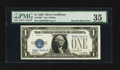 Error Notes:Inverted Reverses, Fr. 1600 $1 1928 Inverted Reverse Silver Certificate. PMG ChoiceVery Fine 35.. ...