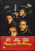 """Movie Posters:War, Above Us the Waves (Rank, 1956). British One Sheet (27"""" X 40"""").War.. ..."""