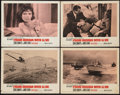"Movie Posters:James Bond, From Russia with Love (United Artists, 1964). Lobby Cards (4) (11""X 14""). James Bond.. ... (Total: 4 Items)"