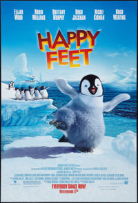 "Happy Feet (Warner Brothers, 2006). One Sheet (27"" X 40"") DS Advance. Animated"