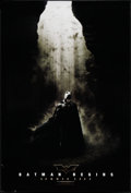 "Movie Posters:Action, Batman Begins (Warner Brothers, 2005). One Sheet (27"" X 40"") DSAdvance . Action.. ..."